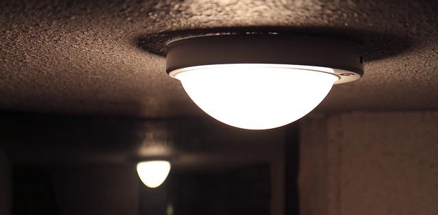stropní světlo